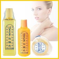 昔から美肌効果の知られている「ハトムギ」のエキスをベースに作られた化粧品!